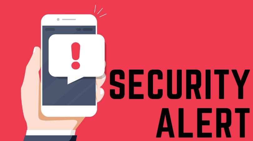 Security Alert